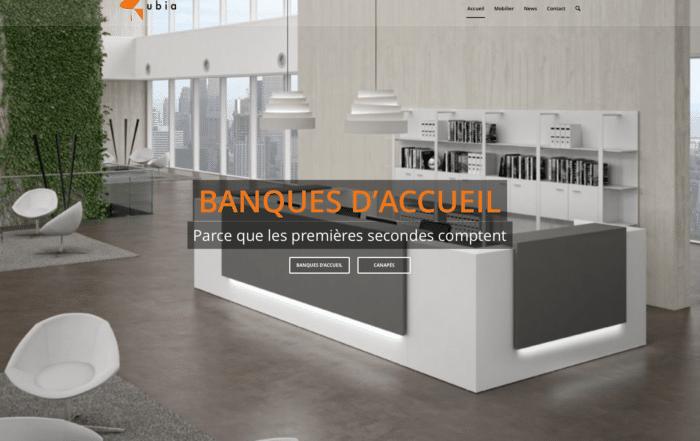 Création site web Ubia-mobilier.fr