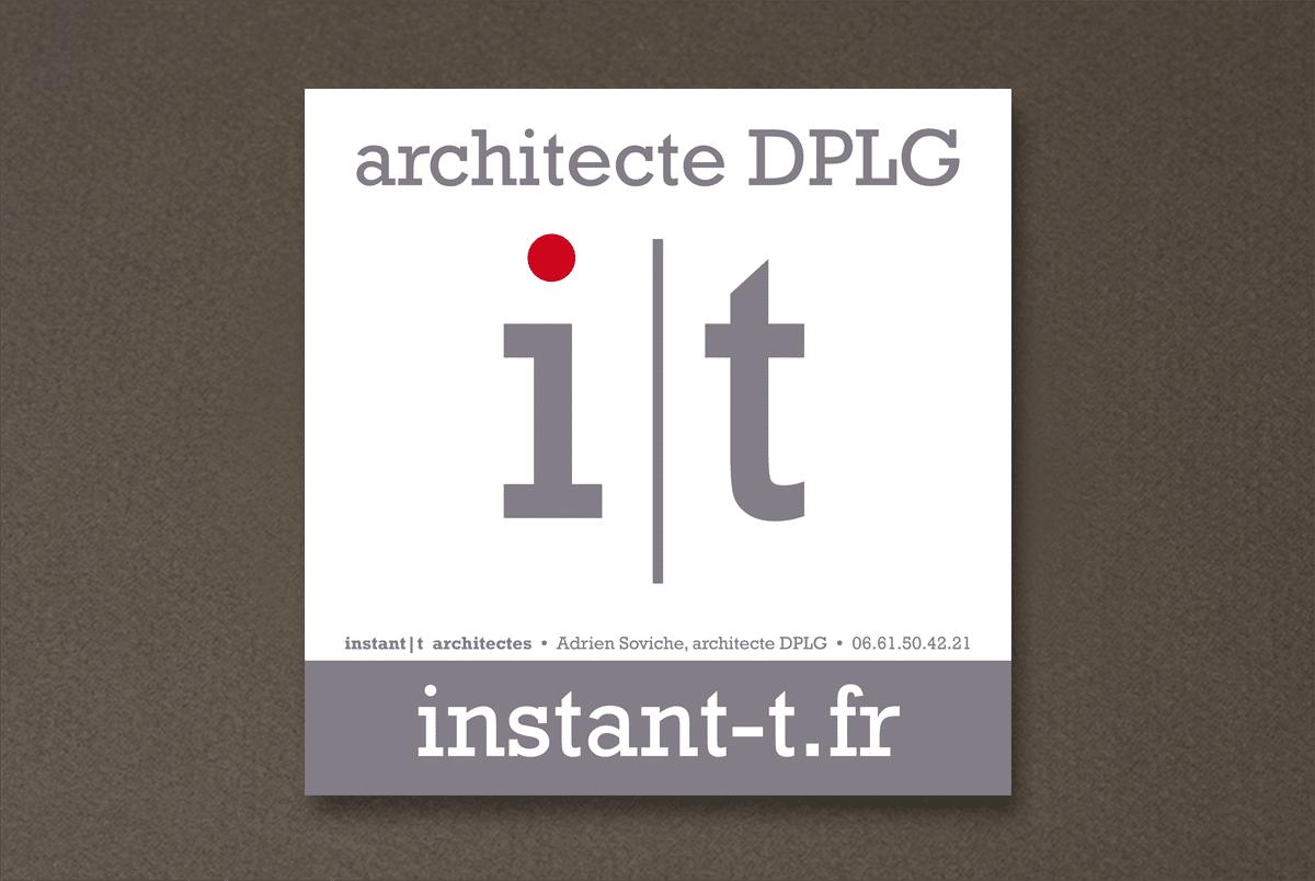 identité visuelle architecte
