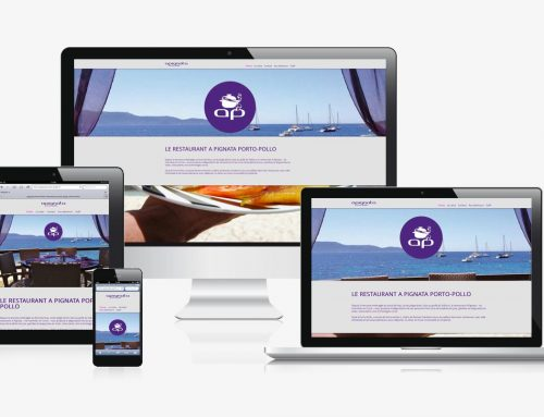 Site restaurant Corse Responsive Webdesign
