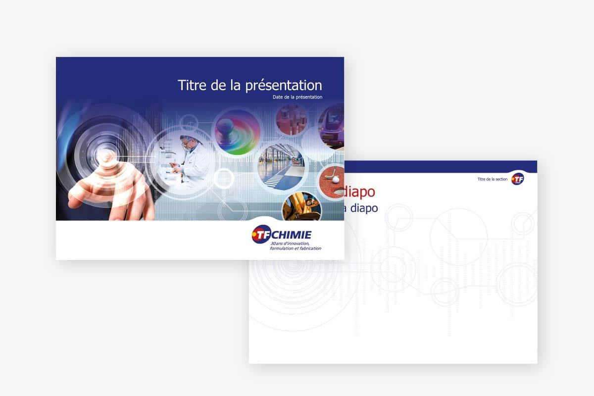 logotype présentation powerpoint