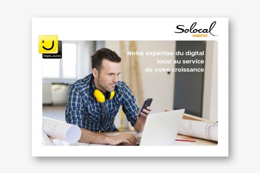 Brochure Solocal Habitat - Aide à la vente