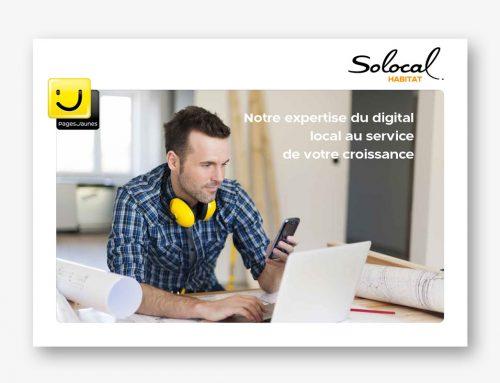 Une nouvelle brochure pour Solocal Habitat