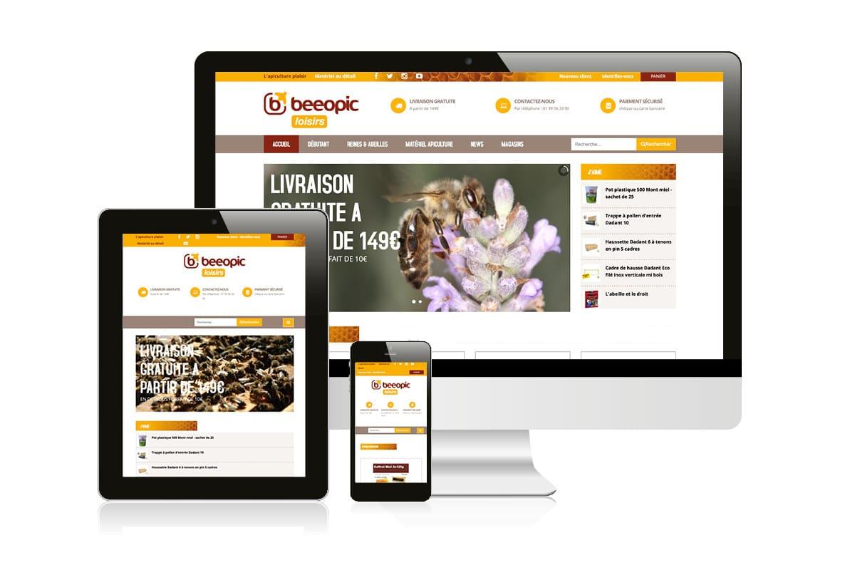 création-logo-apiculteur-vente-matériel-apiculture-webdesin-ginsao