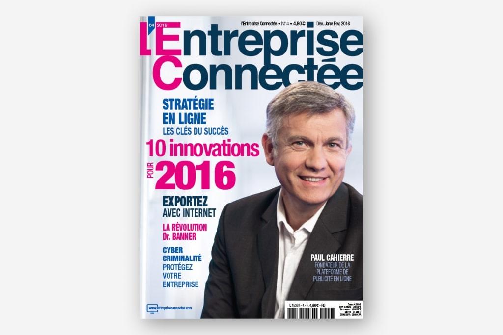 ginsao-agence-communication-l-entreprise-connectée-n4-couverture-magazine