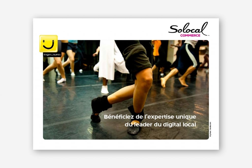 Conception brochures commerciales clubs - ginsao 94-solocal-commerce