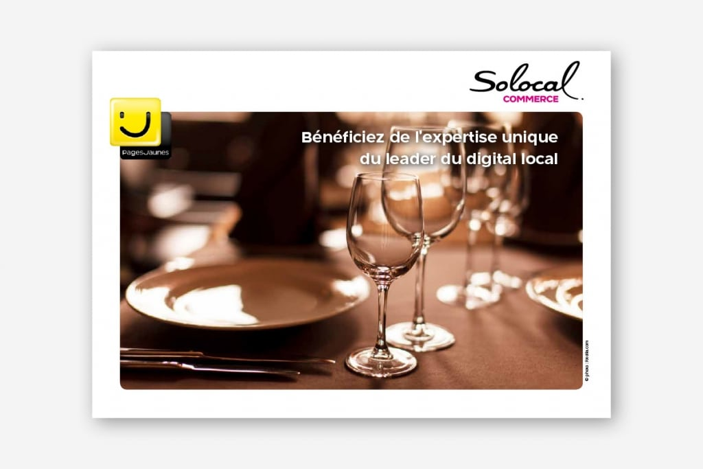 Conception brochures commerciales restaurants - ginsao 94-solocal-commerce