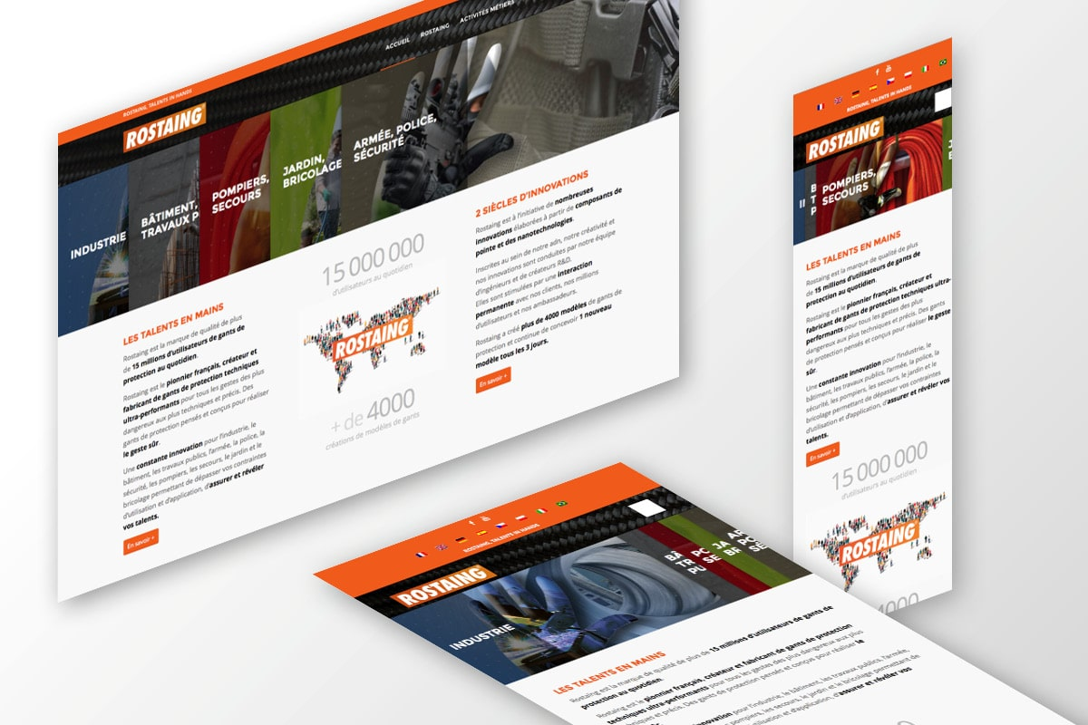 création site web multilingue
