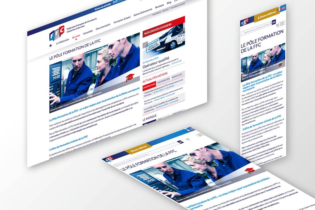 PLATEFORME-MARQUE-COMMUNICATION-FFC-GINSAO-site internet