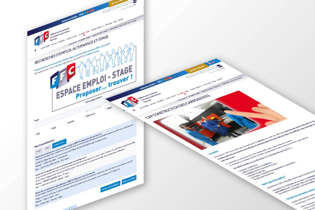 PLATEFORME-MARQUE-COMMUNICATION-FFC-GINSAO-site web