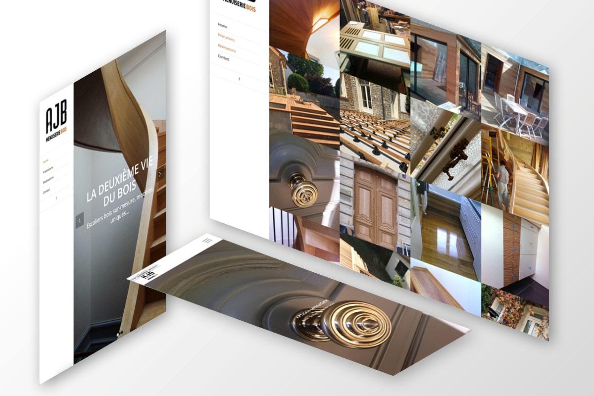 site-web-menuiserie-logo-menuisier-ginsao site web artisan
