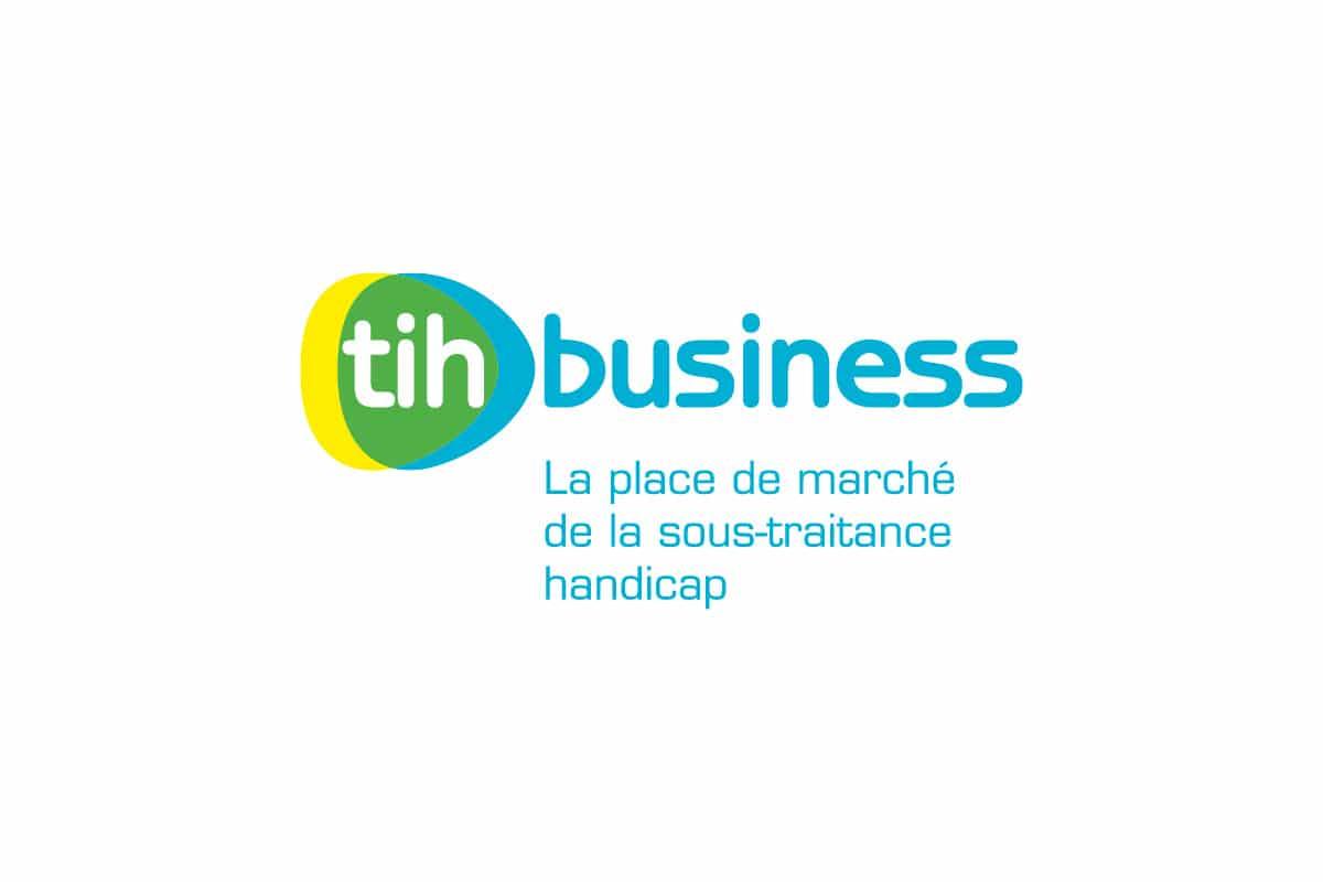 Travailleurs Indépendants Handicapés tih-business-sous-traitance-handicap-création logo