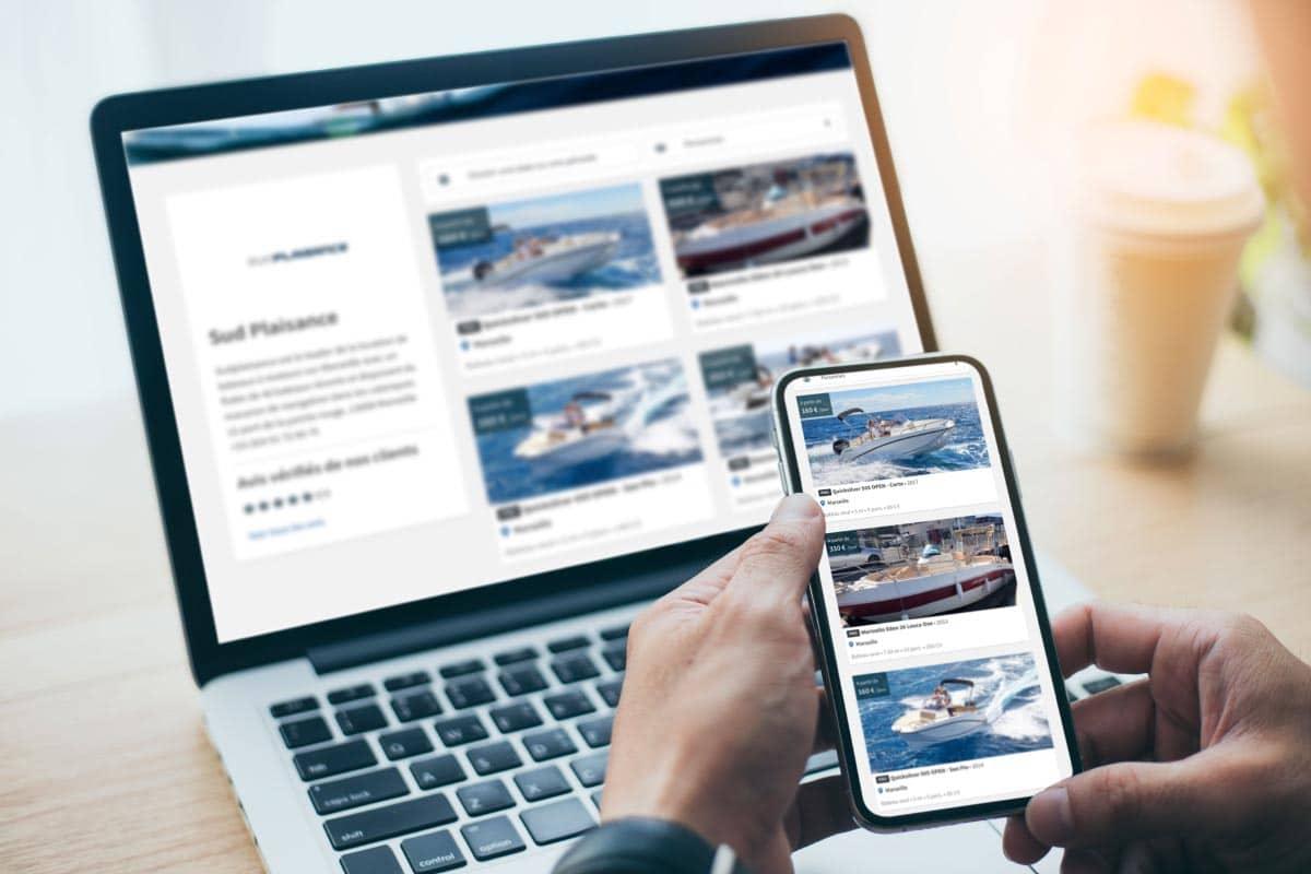 réservation en ligne de bateau sur Marseille